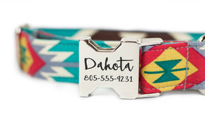 """Aztec"" Dog Collar"