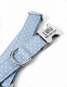 """Polka Dots"" Dog Collar"