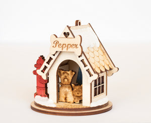Yorkie Dog Cottage
