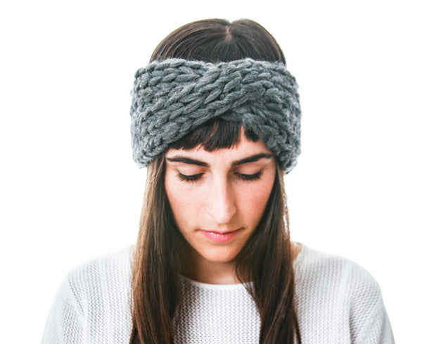 Arctic Headband in Slate
