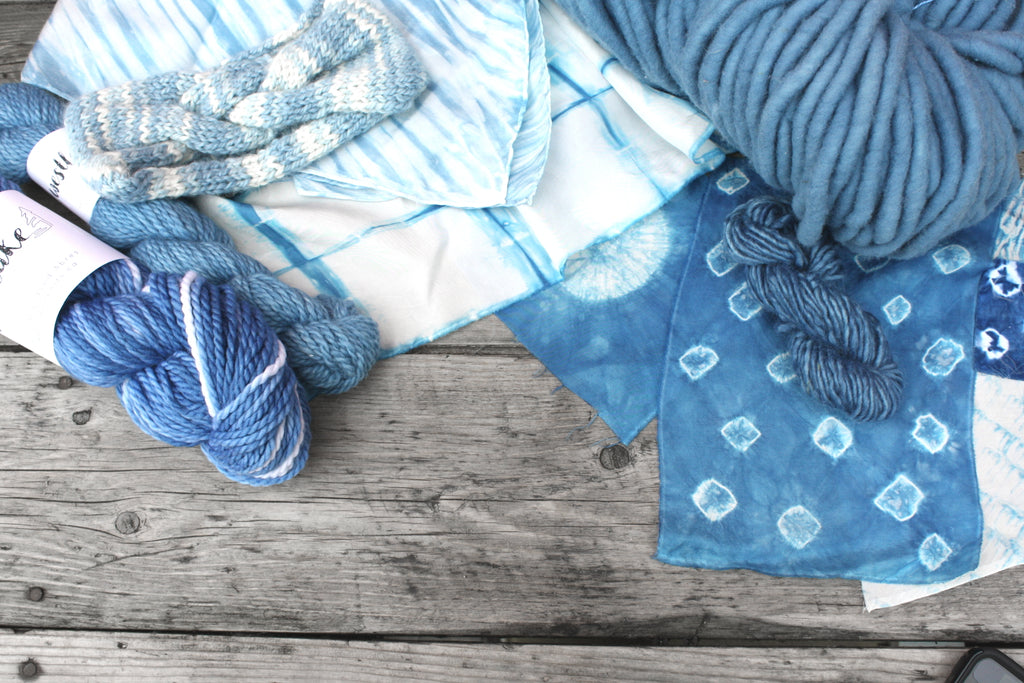 Indigo Dyeing Workshop July 15
