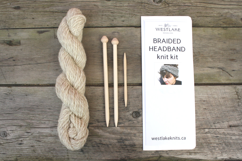 Braided Headband Knitting Kit by Westlake
