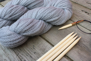 Quarry Toque Knitting Kit, ultrasoft baby alpaca Merino wool blend