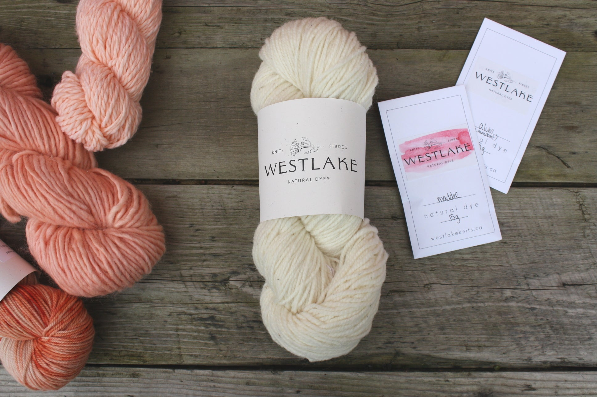 Westlake Natural Dyeing Kit, dye yarn with plant based colour