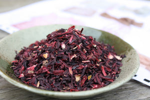 Organic Hibiscus Flowers for Natural Dyeing, 30g