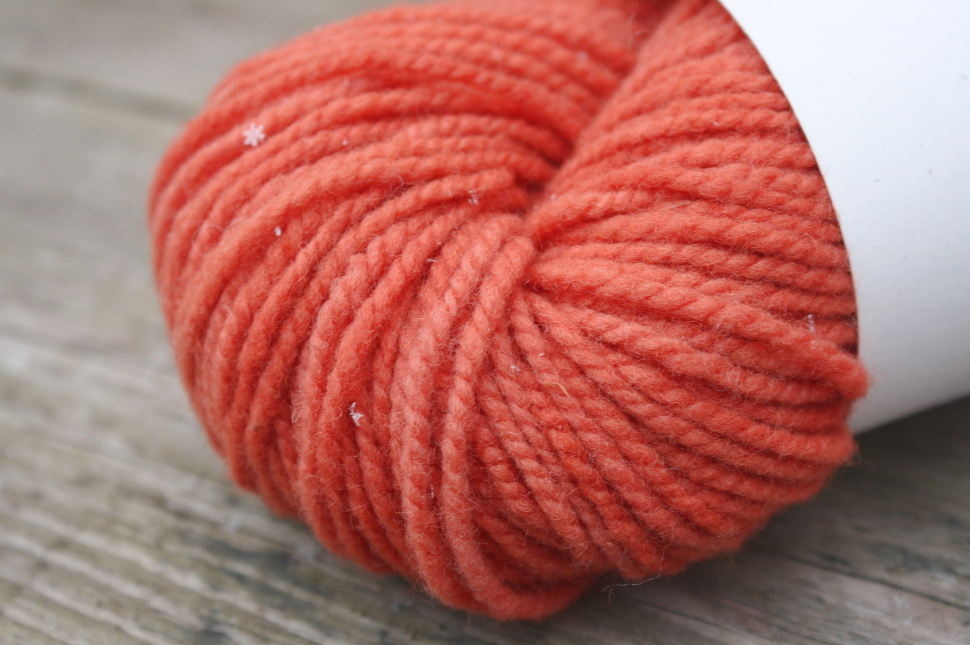 Thicket Canadian Raised Wool Yarn in Rust Red