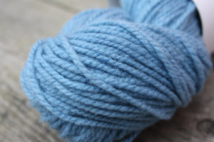 Indigo Blue Canadian Raised Wool, Thicket Yarn Collection