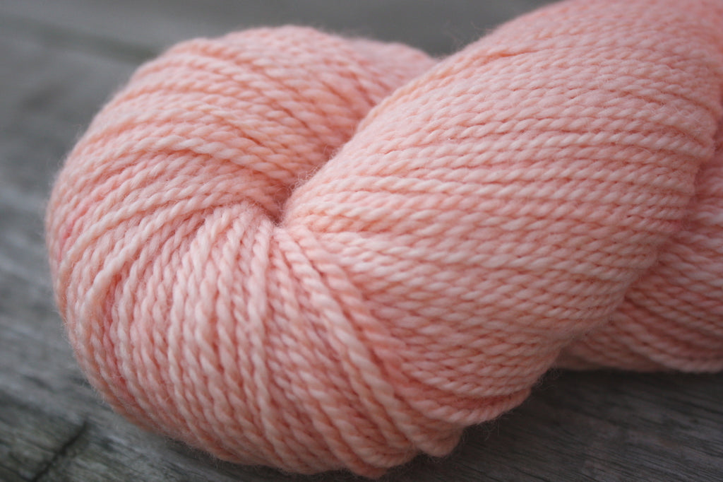 Coral/ Woodland Merino Wool, Fingering