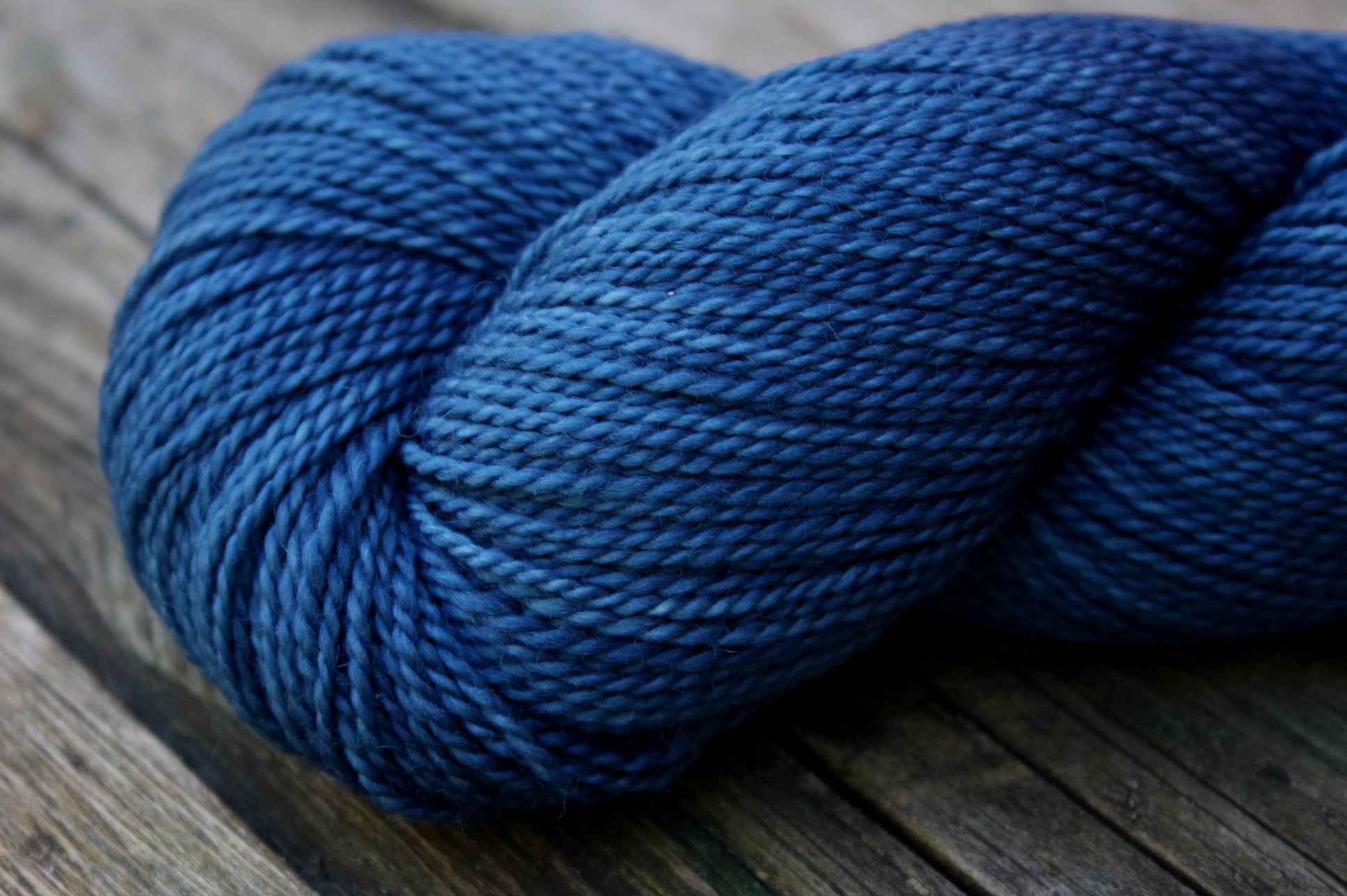Deep Sea/ Woodland Merino Wool, Fingering