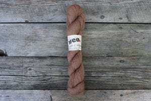 Alpaca Fibre Coop Yarn, Light Brown Worsted