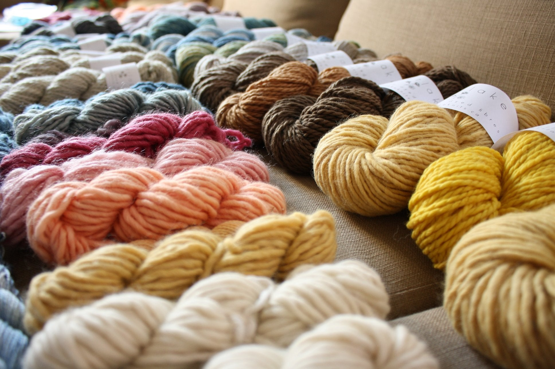 Natural Yarn Dyeing Workshop September 16