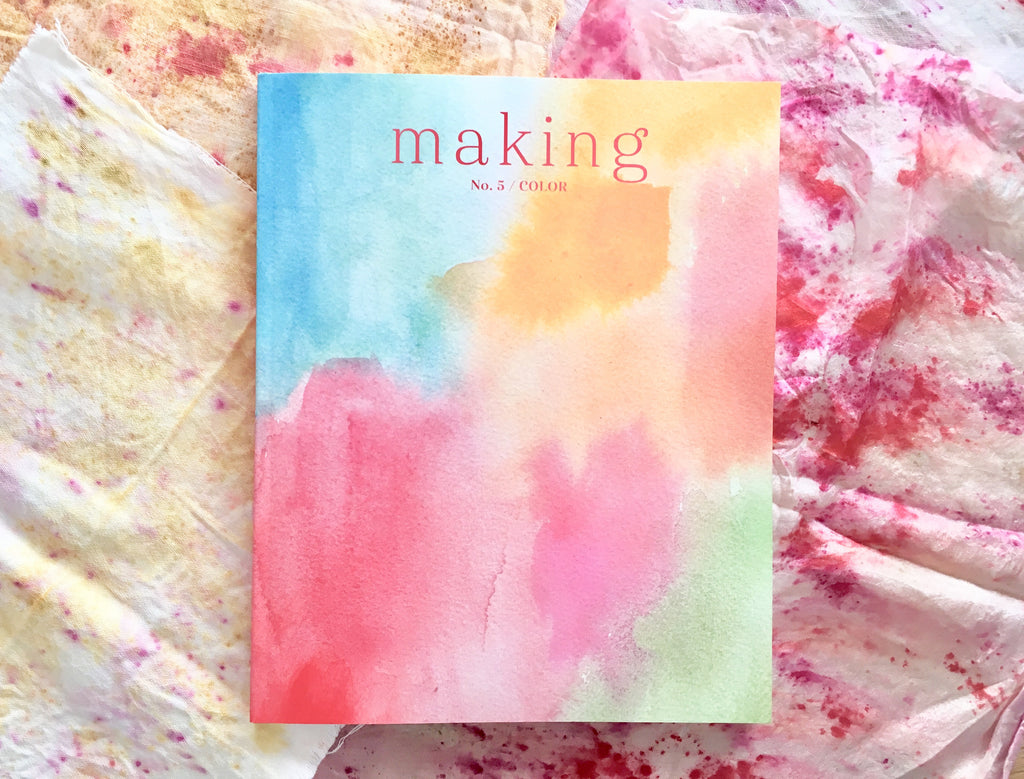 Making Magazine, Issue 4 Color