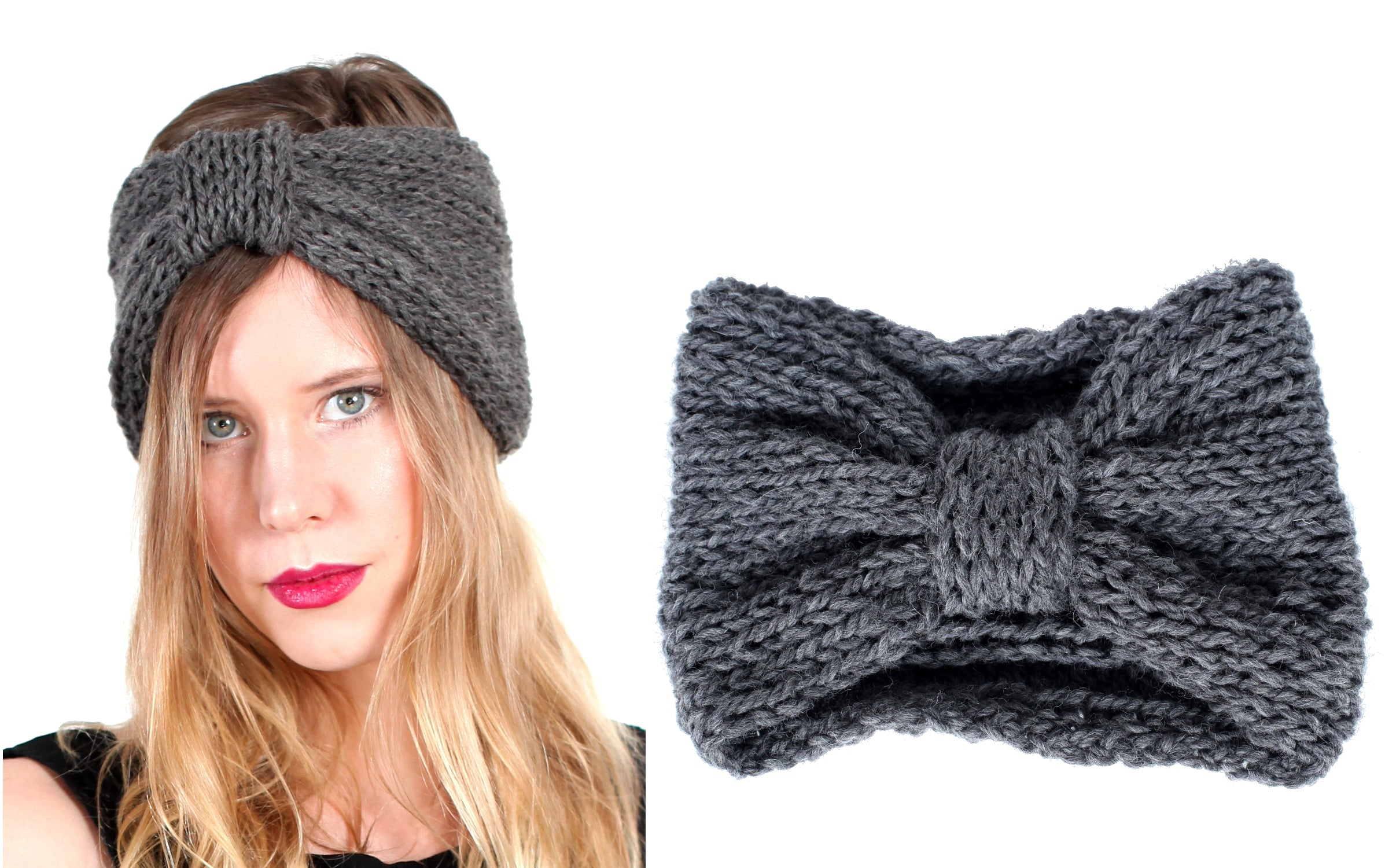 Westlake Bow Headband Knit Kit