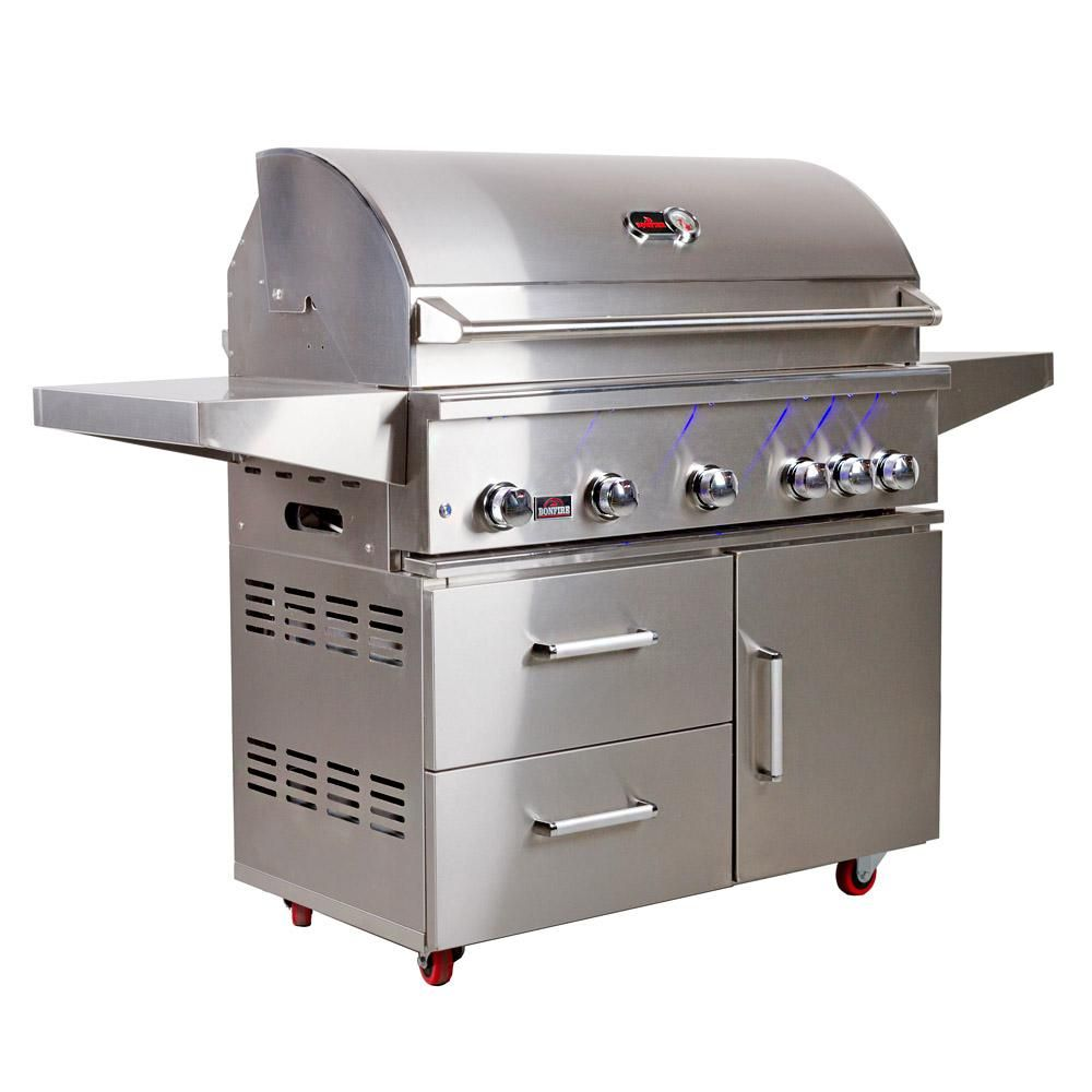 BONFIRE PREMIUM 500 GRILL WITH CART