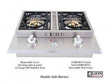 Double Side Burner