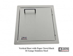 Lion Premium Grills Vertical Door with Towel Rack