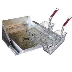 CAL FLAME Deep Fryer Set