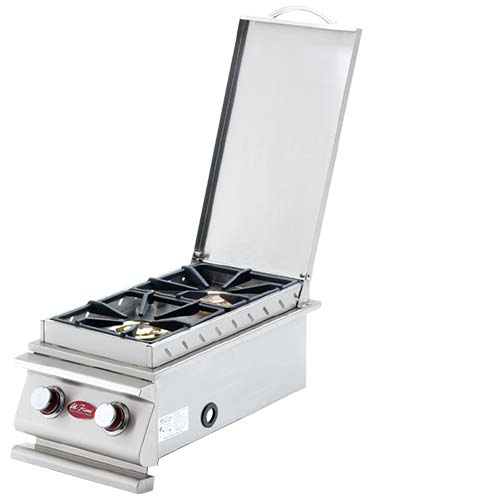CAL FLAME Deluxe Double Side Burner
