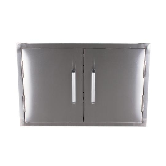 BONFIRE DOUBLE STAINLESS STEEL DOOR