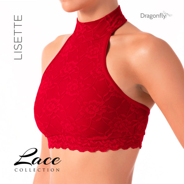 Lisette - Lace Collection Red/Röd