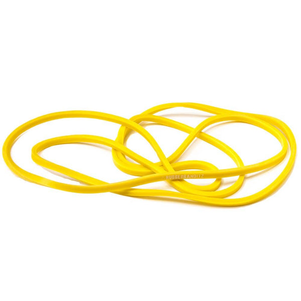 Resistance Band Light - Neon Yellow - 6mm x 104cm - 2-7 kg