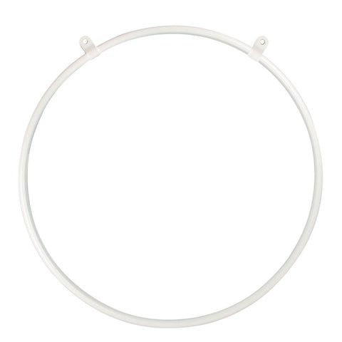2 Point Aerial Hoop - White Sparkle