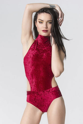 Red Riding Hood Bodysuit Red