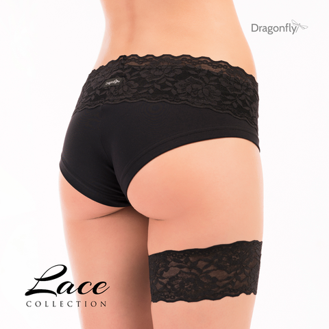 Lace Collection Garter Black