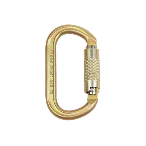 ISC KL321 Twist-Locking Offset Oval Carabiner