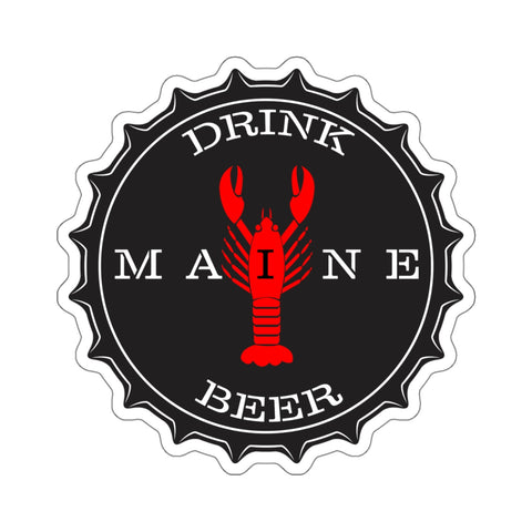 """Drink Maine Beer"" Sticker"