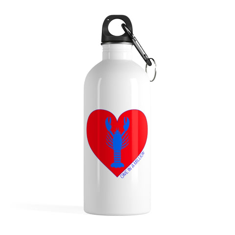 Blue Lobster Stainless Steel Water Bottle