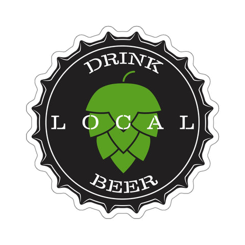 Drink Local Beer Sticker
