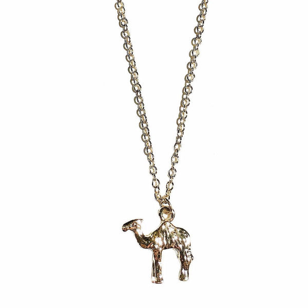 Camel Necklace in Gold