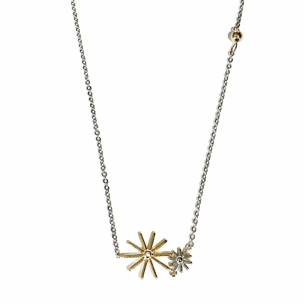 Sun & Star Necklace