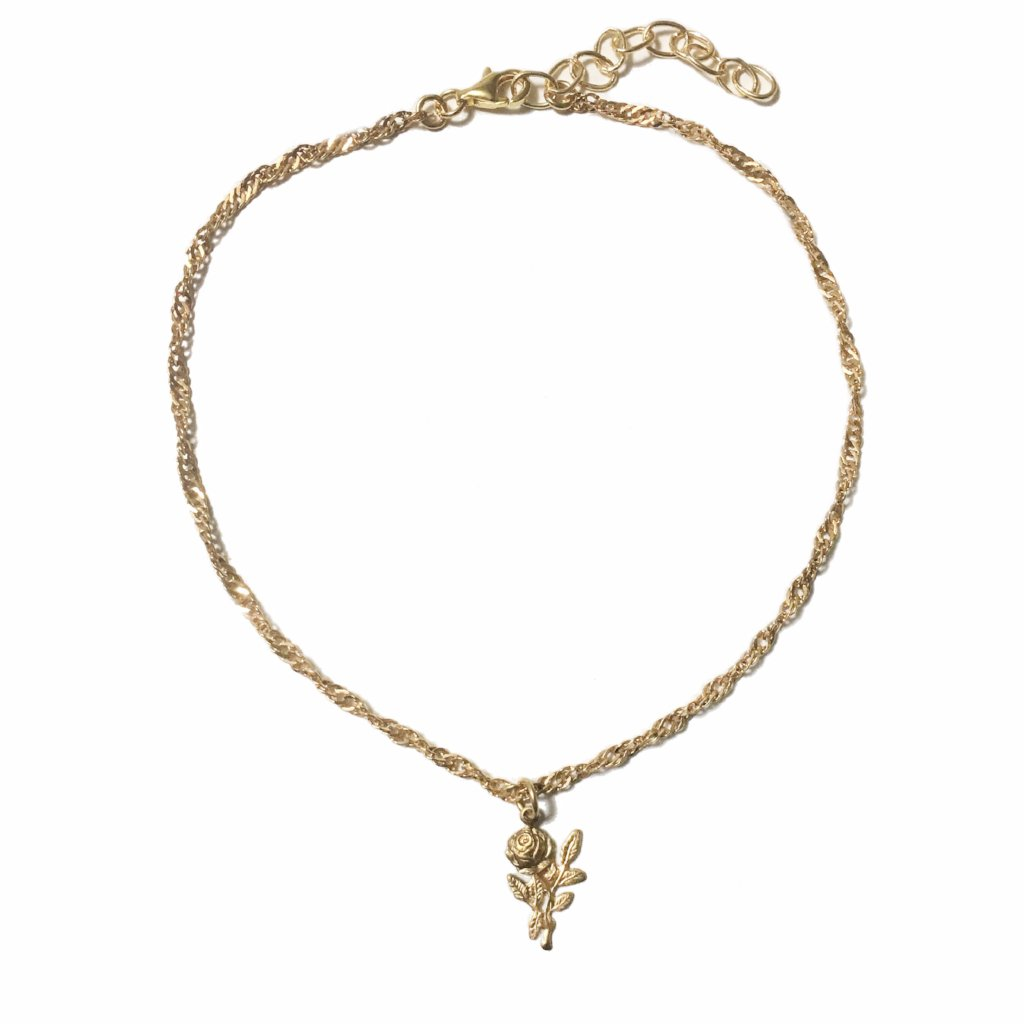 Rose Choker Necklace - MenriThings