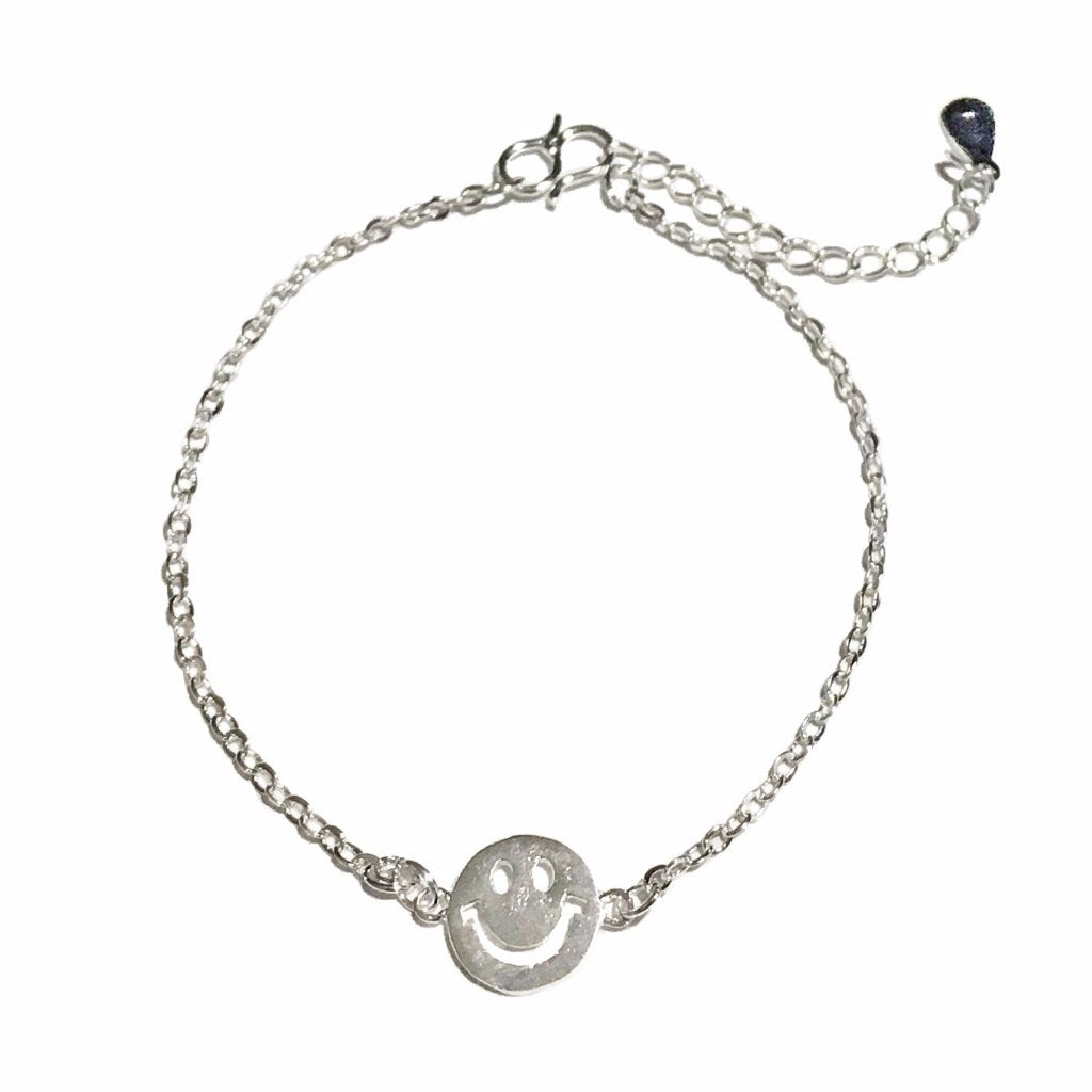 Smiley Face Anklet