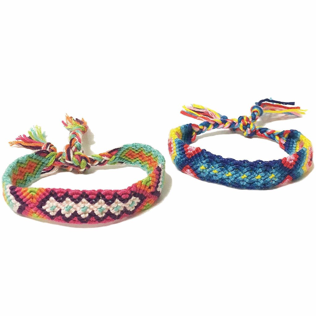Colorful Handwoven Ethnic Bracelet