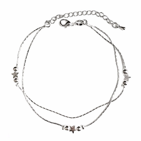Star & Ball Anklet