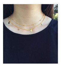 Moons & Stars Choker Necklace
