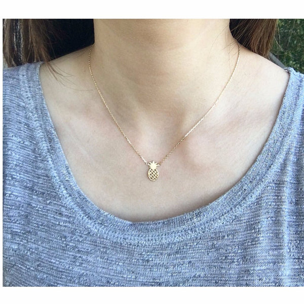 Pineapple Necklace - MenriThings