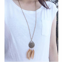 Long Dreamcatcher Necklace - MenriThings