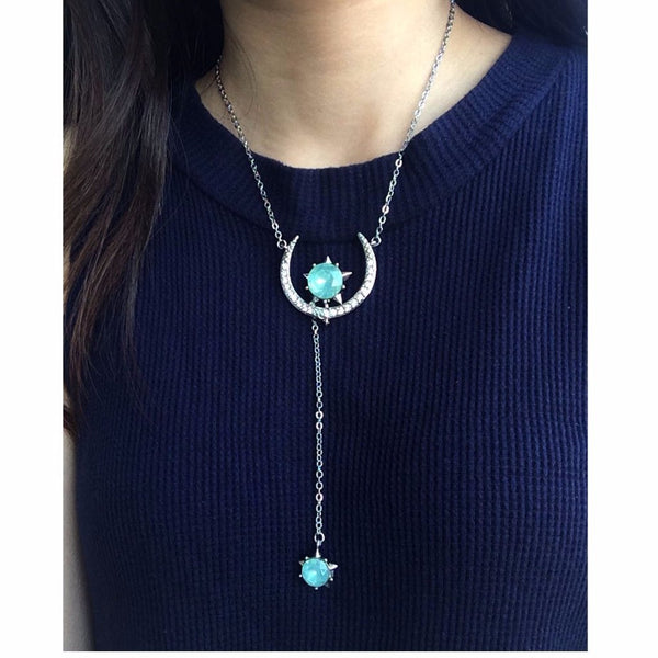 Epic Moon and Stars Necklace