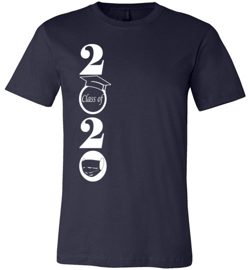 Class of 2020 T-Shirt with White Text