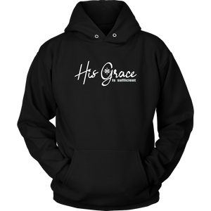 Hoodie-Unisex-His Grace Is Sufficient