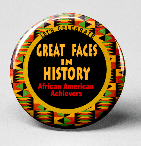 Black History-African American Achievers Keepsake Button Collection- Uniquely Designed