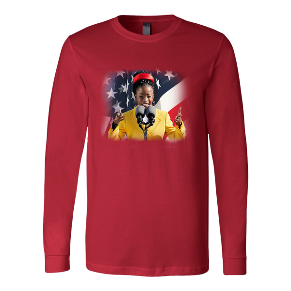 Amanda Gorman Long Sleeve Unisex Shirt