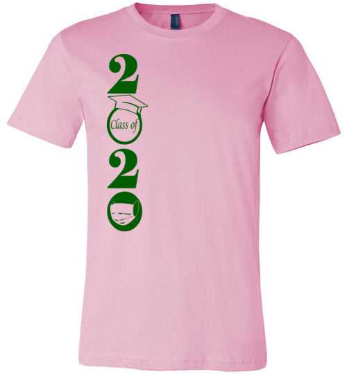 Class of 2020 T-Shirt with Green Text