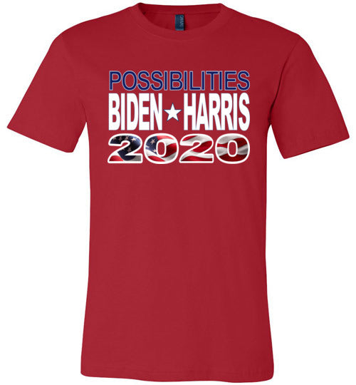 Biden Harris 2020 Election TShirt-Possibility Blue