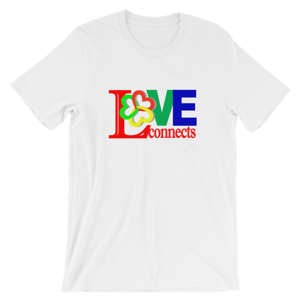 Love Connects- Adult Unisex T-Shirt