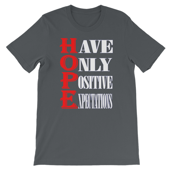 Hope T-Shirt (Dark Colors)-Unisex